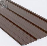 Feuille ondulée en acier de toiture galvanisée par PPGL de PPGI pour le matériau de construction
