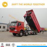 Sinotruk HOWO-A7 375HP 8X4 12 짐수레꾼 덤프 또는 팁 주는 사람 트럭