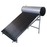 Riscaldatore di acqua solare ad alta pressione della valvola elettronica del compatto del condotto termico