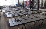 Portelli fatti a mano del garage del ferro di migliore obbligazione antiruggine di qualità bei