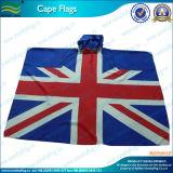 Capo britannico della bandierina stampato alta qualità del ventilatore di sport del poliestere (M-NF07F02013)
