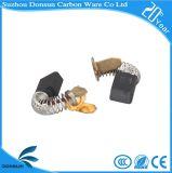 Китай производства угольных щеток электродвигателя для электроинструмента