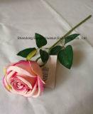 인공 실크 꽃 훈장을%s 단 하나 로즈 아름다움 색깔