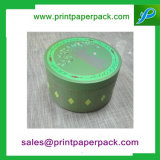 Boîte-cadeau ronde fabriquée à la main colorée de Tibia-Chan de crayon de carton pour l'empaquetage de cadeau