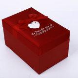 La caja de regalo personalizado manufactura Caja de papel Kraft Caja de papel flor