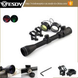 Tactical 4-16X40e Red & Green Illuminated Range Finder Rifle Scope