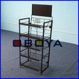 Metallbildschirmanzeige-Zahnstangen und Standplätze