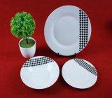 Projeta barato placas de jantar cerâmicas da porcelana
