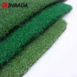 Herbe artificielle de golf de qualité, gazon synthétique de densité de Hight pour l'inducteur de golf