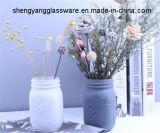 Heet verkoop de Kleurrijke Berijpte Vaas van het Glas van de Metselaar