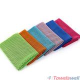 Зеленые спорты Wicking Microfiber охлаждая полотенце