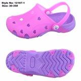 Nuevo diseño de jalea de PVC de Lindos zapatos de suela de EVA superior sandalias para niños