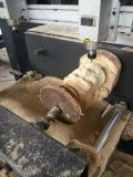 1625 velocidades rápidas, corte de madeira do router do CNC e máquina de gravura com servo de France Schneider
