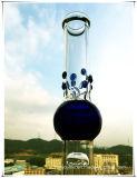 Hb-K36 2*8 Arm-Baum-Unterseiten-Becher Perc Bereich-Form-rauchendes Wasser-Glasrohr