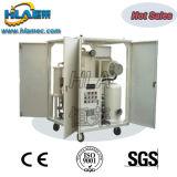 Usine mobile de purification d'huile de transformateur de vide