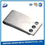 SS304 Aço inoxidável placa decorativa parte de estampagem com revestimento de zinco