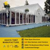 Tenda di evento di cerimonia nuziale di Huaye con le pareti di vetro (217j hy)