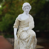 Statue de marbre sculpté à la main femelle