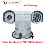 Un máximo de 100 m de la gama de infrarrojos de vehículo alquiler de cámara PTZ
