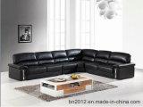 Sofá moderno de couro genuíno para sala de estar (SBO-2995)