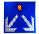 Легкий алюминиевый Blinker солнечной энергии на мигающие символы трафик светоотражающие знаки