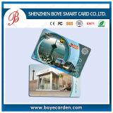 PVC IC carte avec code laser et l'encodage