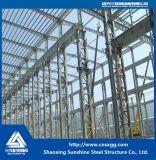 2017溶接されたビーム建築材料が付いている安い鉄骨構造の研修会