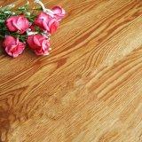 Telha de assoalho de madeira do vinil do olhar de Dryback/Gluedown