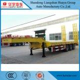 掘削機の頑丈な機械装置の輸送のための2/3/4台の半車軸60t Lowbedトレーラー