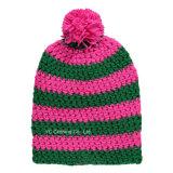 Qualidade 100% Super Soft Acrylic Yarn Winter Knitted Cap