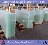 3.2/4mm milderten ultra freies Glasmuster-Solarglas