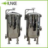 Filtro de cartucho de agua de acero inoxidable industriales para tratamiento de aguas