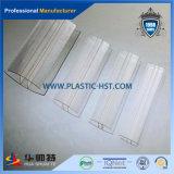 Transparentes Polycarbonat-Profil fester PC Verschluss