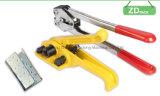 Prendendo com correias ferramentas para a cinta do animal de estimação e colocação de correias resistente dos PP
