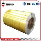 Papier d'aluminium enduit de couleur d'Ideabond PVDF/Polyester