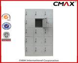 De 15-deuren van de Kast van het staal Kasten cmax-SL15-001 van de Kubus van de Garderobe van de Gymnastiek van de Slaapzaal van het Metaal van de Kast