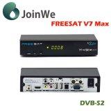 1080P 가득 차있는 HD DVB-S2 Freesat V7 최대 인공 위성 수신 장치