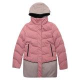 Оптовые торговые марки женских вниз куртка инвентаризация товаров зимой слой для женщин на складе