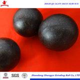Informe de la prueba de SGS la bola de acero de molienda para minas de plata