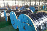 Cabo distribuidor de corrente do PVC de Nyy-O 0.6/1kv ao padrão de DIN/VDE