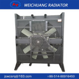 Eficiente sistema de refrigeração do Grupo Gerador Mitsubishi