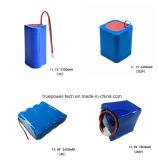 Bateria de iões de lítio de 3.7V 8800mAh para Via Detactor com un38.3