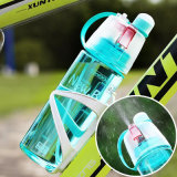 Creativo Spray Sport Water Bottle Ciclismo Suco de frutas Shaker