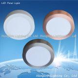 indicatore luminoso di comitato di alluminio del quadrato LED di 6W 12W 15W per il soffitto della Camera