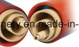 Máquina de doble línea de producción de tubería de doble tornillo PVC doble