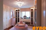 従来の白PVC木の食器棚(BY-W-108)
