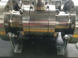 ASTM A182 F51 a modifié le robinet à tournant sphérique de tourillon
