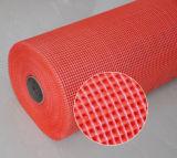Red Álcali-Resistente de la fibra de vidrio para Eifs 5X5m m, 160G/M2