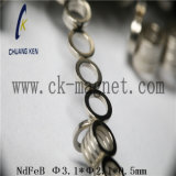 Ck 251 NdFeB 자석 급료 Φ 3.1*Φ 2.1*0.5mm