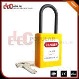 Het slanke Niet geleidende Nylon Korte ABS van de Sluiting Hangslot van de Veiligheid (EP-8531N)